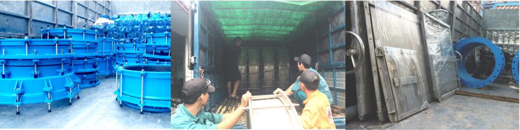 Đóng gói, xuất hàng hóa tại nhà máy Mỹ Phát